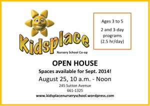 Microsoft Word - Kidsplace August 2014 ad.docx