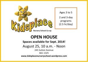 Microsoft Word - Kidsplace August 2014 ad.docx