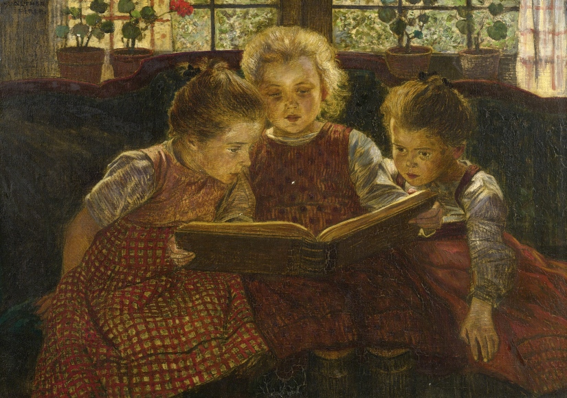 {The Fairy Tale by Walther Firle}